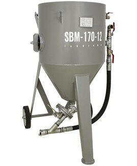 Druckstrahlgerät SBM-170-12 (A) C strahlkessel sandstrahlgerät