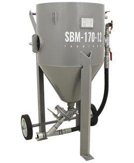Druckstrahlgerät SBM-170-12 (B) M strahlkessel sandstrahlgerät