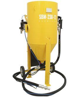 Hydro strahlgerät SBM-230-12 H (B), Soda strahlanlagen