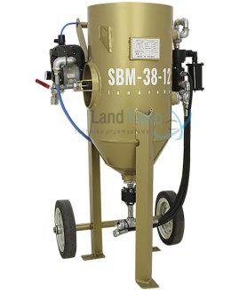 Hydro strahlgerät SBM-38-12 H (B), Soda strahlanlagen