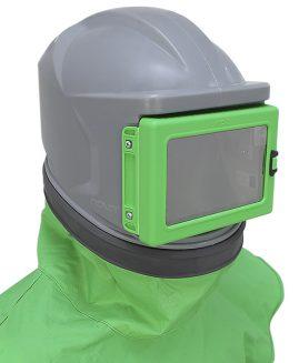 Strahlhelm NOVA1 sandstrahlhelm luft zugeführt helm