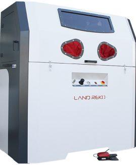 Druckstrahlkabine SCP-1200-12 Sandstrahlkabine Sandstrahlgerät