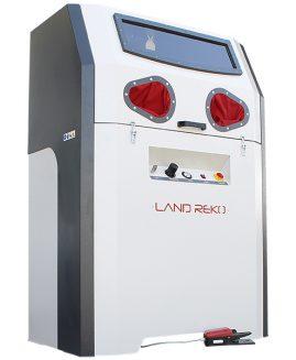 Druckstrahlkabine SCP-550-12 Sandstrahlkabine Sandstrahlgerät