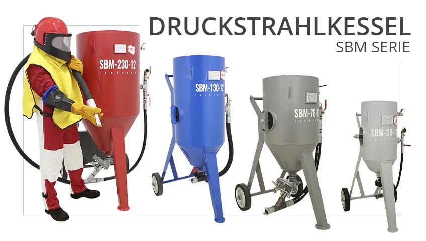 druckstrahlkessel-sbm-serie