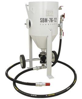 Druckstrahlgerät SBM-76-12 (B) S strahlkessel sandstrahlgerät