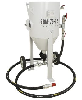 Druckstrahlgerät SBM-76-12 (B) V strahlkessel sandstrahlgerät