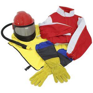 Sicherheitsausrüstung des Bedieners