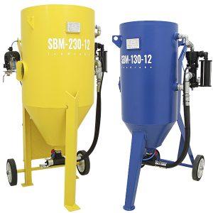Soda und Wasser Druckstrahlkessel SBM H